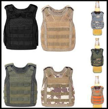 Load image into Gallery viewer, koozie, beer, military vest,
