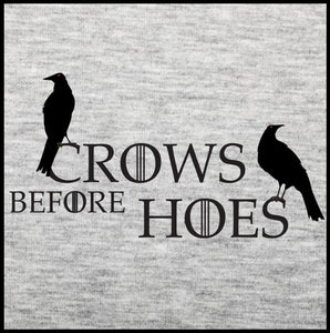 crows before hoes, t shirt, got shirt, game of thrones t shirt,