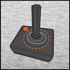 original gamer, atari joystick, t shirt,