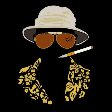 hunter s thompson, tshirt, tees,