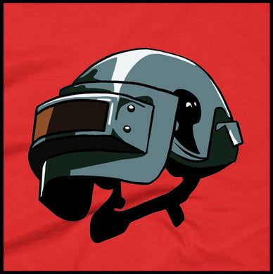 pubg helmet, pubg, playersunknownbattlegrounds, pubg shirt, printed shirt, gaming shirt,