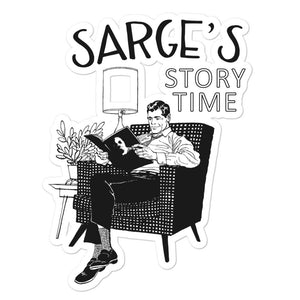 Sarge Story Time Sticker