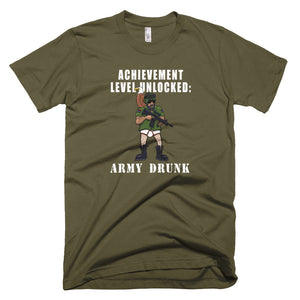 Achievement Unlocked:  Army Drunk T-Shirt