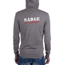 Load image into Gallery viewer, Sarge The Destroyer Logo Zip Hoodie