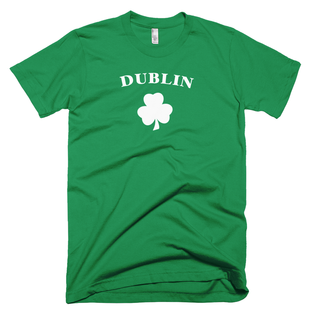dublin, dublin t shirt, st. patricks day shirt, clover, paddy's day,