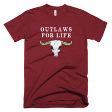 Load image into Gallery viewer, Outlaws For Life Shirt - Farkle Tees