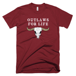 Outlaws For Life Shirt - Farkle Tees