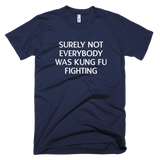Surely Not Everyone Was Kung Fu Fighting T-Shirt - Farkle Tees