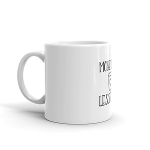 More Coffee Less Talky Mug - Farkle Tees
