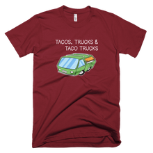 Load image into Gallery viewer, Tacos, Trucks & Taco Trucks Shirt - Farkle Tees