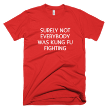 Load image into Gallery viewer, Surely Not Everyone Was Kung Fu Fighting T-Shirt - Farkle Tees