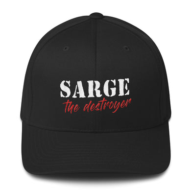 Sarge The Destroyer Flex Fit Hat