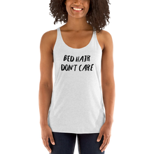 Load image into Gallery viewer, bed hair don't care, bed hair, bed hair shirt, bed hair tank top, womens clothing