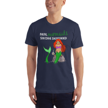 Load image into Gallery viewer, Real Mermaids Smoke Seaweed T-Shirt - Farkle Tees