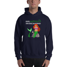 Load image into Gallery viewer, Real Mermaids Smoke Seaweed Hoodie - Farkle Tees