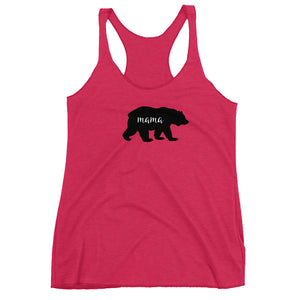 mama bear, mom, mom tank top, tank tops, custom tank tops,