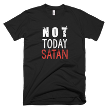 Load image into Gallery viewer, not today satan, t shirt, custom shirt,