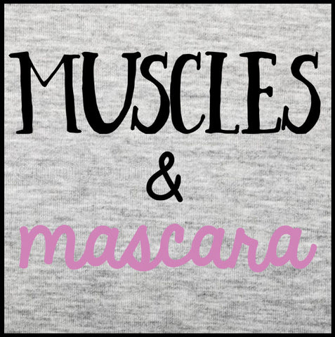 Muscles & Mascara Tank Top - Farkle Tees