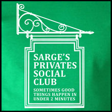 Load image into Gallery viewer, Sarge's Privates Social Club Shirt - Farkle Tees