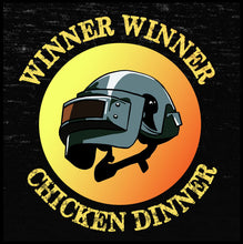 Load image into Gallery viewer, Winner Winner Chicken Dinner Shirt - Farkle Tees, winner winner chicken dinner, winner winner shirt, t shirt, pubg tshirt, pubg shirt,