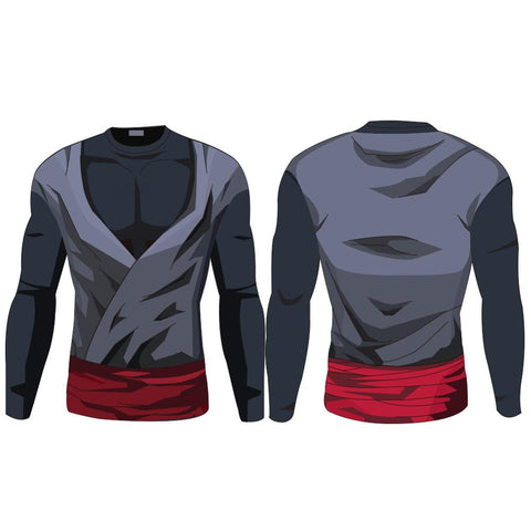 DBZ Rash Guard (Future Trunks Saga: Goku Black & Future Trunks) - Rash Guard Hero