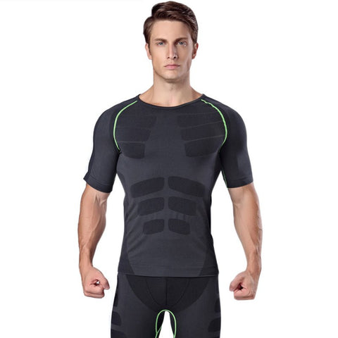 Short Sleeve Body Shape Gym Rash Guard - Rash Guard Hero