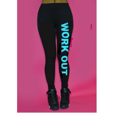 Fitness Work Out Leggings Athleisure - Rash Guard Hero