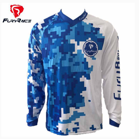 MTB MX DH Mountain Bike Jersey - Rash Guard Hero