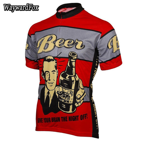Beer Themed Cycling Jersey - Rash Guard Hero