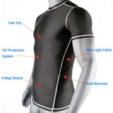 Plain Swimming Surfing Rash Guard - Rash Guard Hero