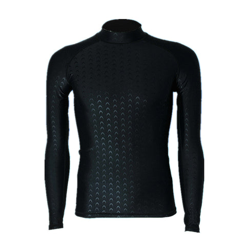 Super Elastic Long Sleeve Surf & Swim Rash Guard - Rash Guard Hero