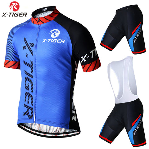Men's Summer Cycling Jersey & Shorts - Rash Guard Hero
