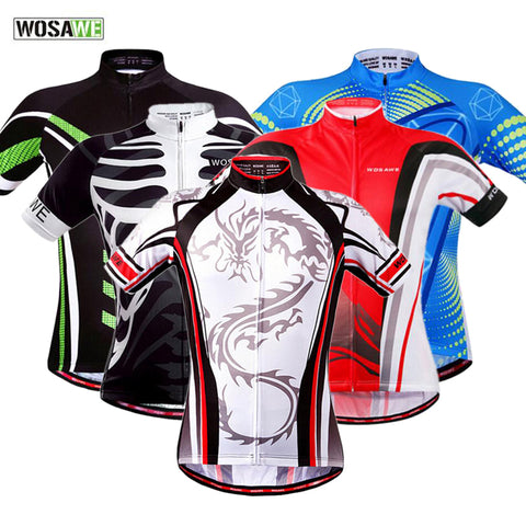 Short Sleeve Road Bike Cycling Jersey - Rash Guard Hero