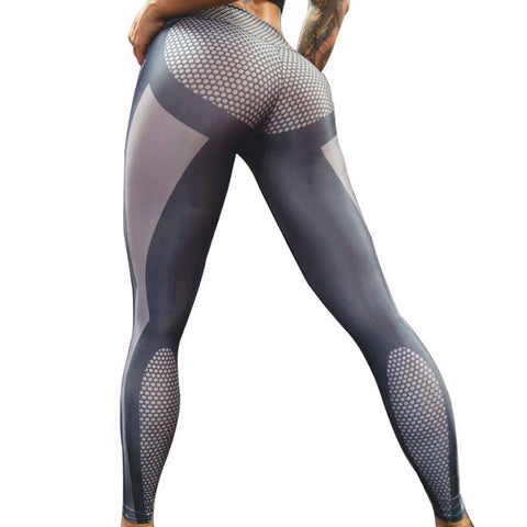 Elastic Fitness Leggings Jeggings Push Up Pants - Rash Guard Hero