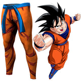 DBZ Compression Pants (Goku, Vegeta, Piccolo) - Rash Guard Hero
