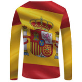 National Long Sleeve Rash Guard Active Wear - Rash Guard Hero
