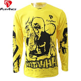 Men's Downhill Mountain Bike Jersey - Rash Guard Hero
