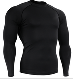 BJJ Long Sleeve Rash Guard (plain) - Rash Guard Hero