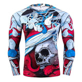 Long Sleeve Compression Shirt Rash Guard - Rash Guard Hero