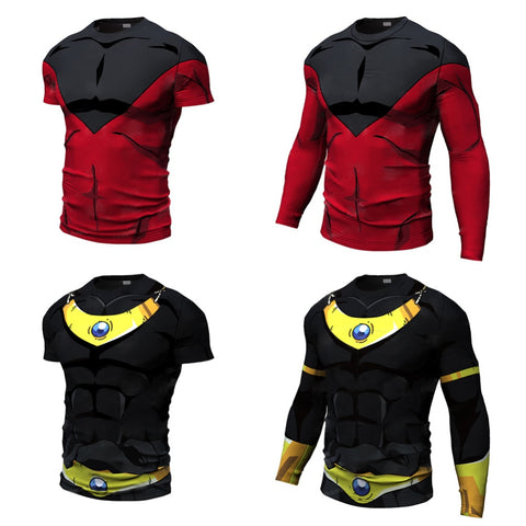 Dragon Ball Super Enemy Rash Guard - Rash Guard Hero
