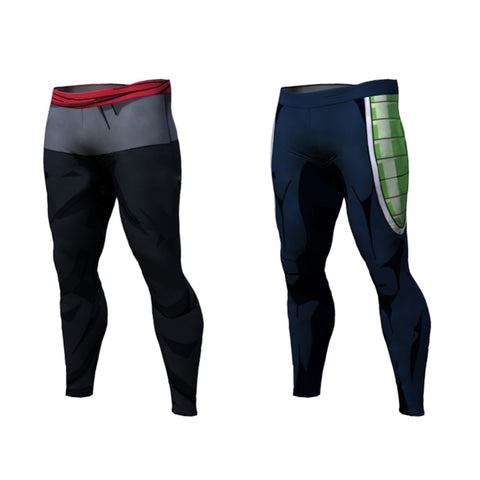 DBZ Compression Pants (Bardock) - Rash Guard Hero