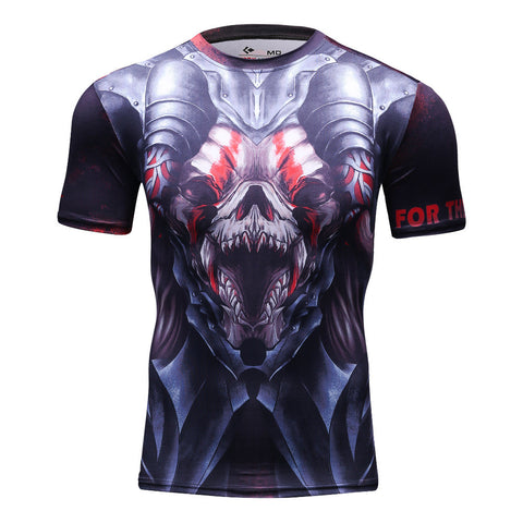 Super Warrior Alliance Short Sleeve Rash Guard - Rash Guard Hero