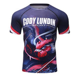 Dragons Roosters Short & Long Sleeve Rash Guard & Spat - Rash Guard Hero