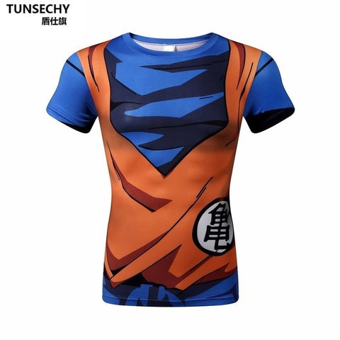 DBZ Short Sleeve Rash Guard - Rash Guard Hero
