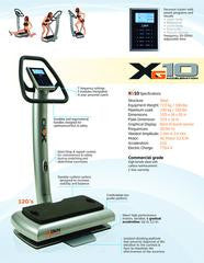 DKN XG10 Vibration Machine - Healthy Living Boutique