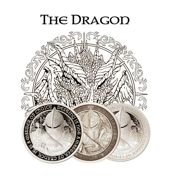 "Destiny of Three ""THE DRAGON"" - (includes all three coins) - The Destiny Series"