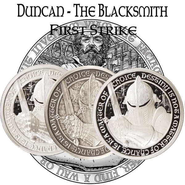 FIRST STRIKE - Duncan The Blacksmith Set - The Destiny Series