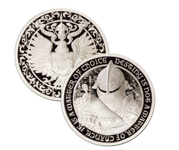 "THE RAVEN - ""Ardnamurchan"" - 2 oz ""PROOF"" .999 Fine Silver Coin - The Destiny Series"