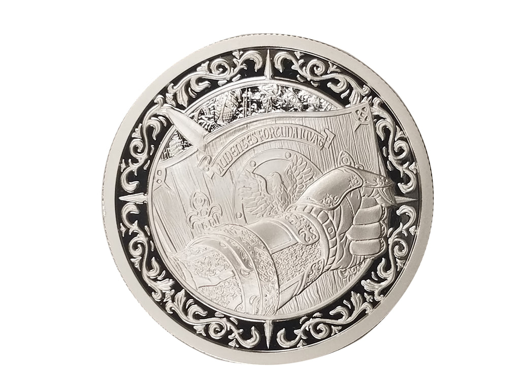 "THE SHIELD - 2 oz ""PROOF"" .999 Fine Silver Round - The Destiny Series"