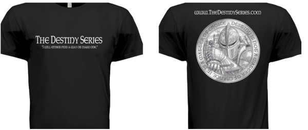 Vintage Black - Destiny Series T-Shirt - The Destiny Series